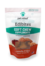 PET RELEAF Pet Releaf Edibites Soft & Chewy Sweet Potato Pie