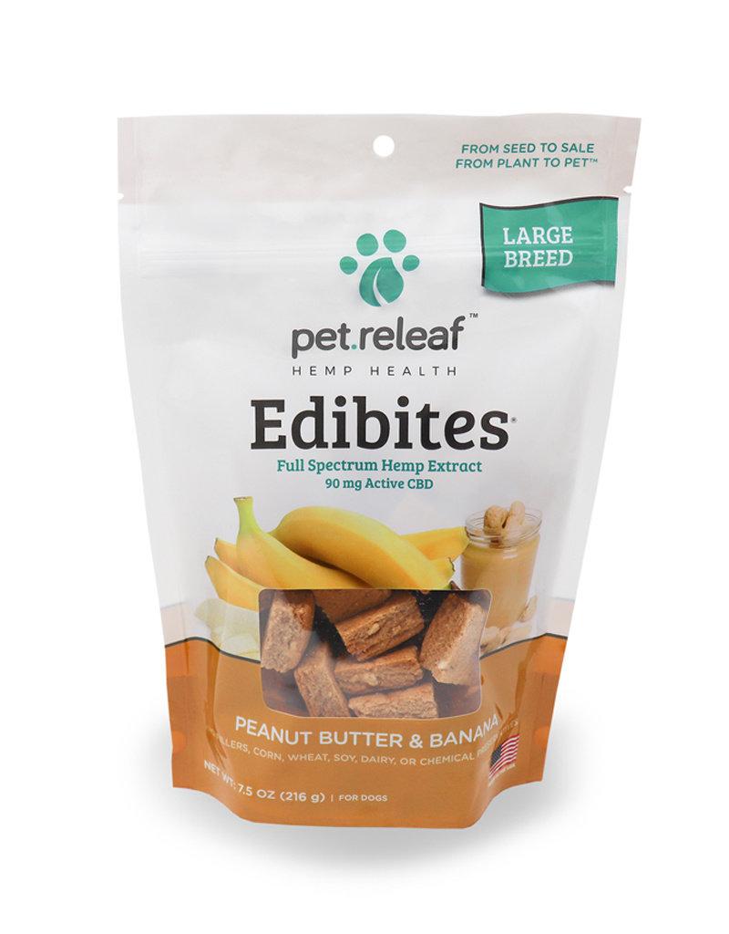 PET RELEAF Pet Releaf Edibites Crunchy Peanut Butter & Banana