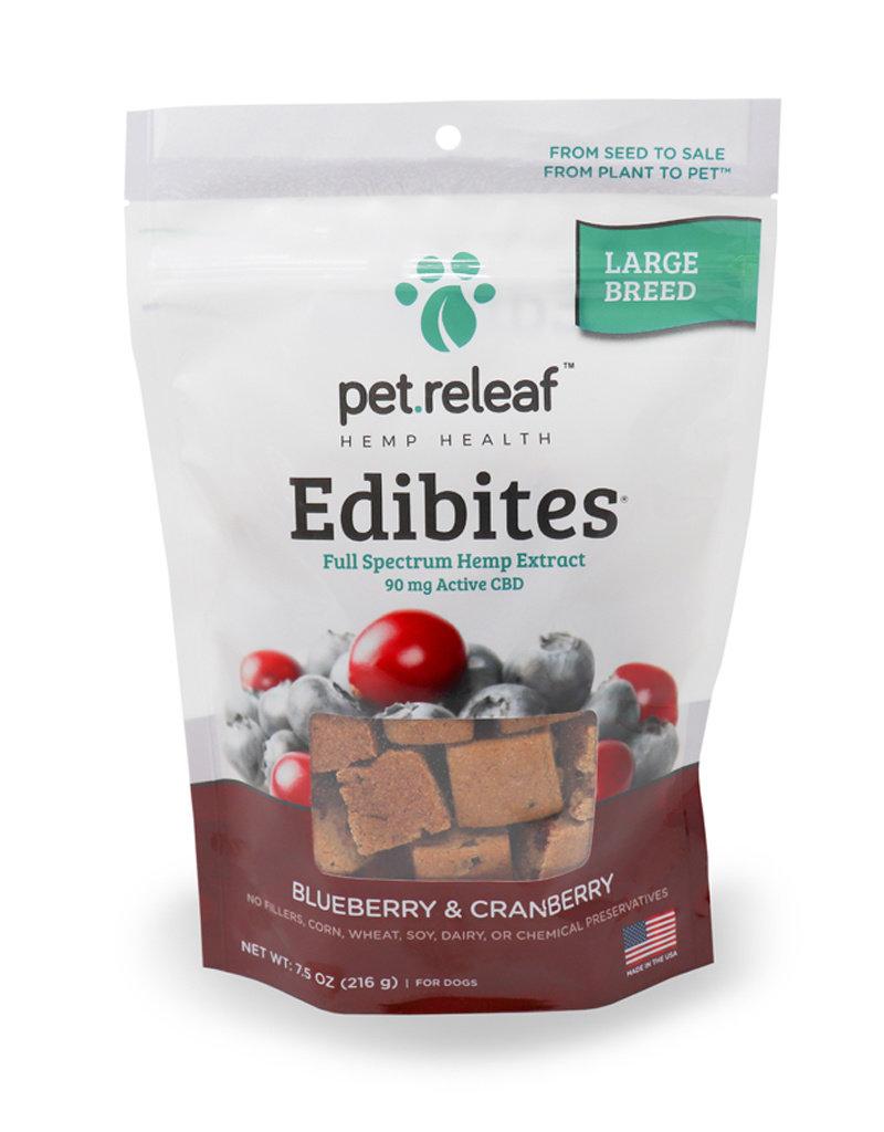 PET RELEAF Pet Releaf Edibites Crunchy Blueberry & Cranberry