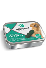 PET RELEAF Pet Releaf CBD Hemp Oil Capsules 150mg 10pk Tin