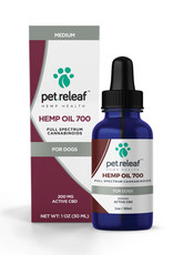 PET RELEAF Pet Releaf CBD Hemp Oil 700mg 1oz Bottle