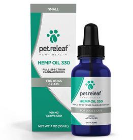 PET RELEAF Pet Releaf CBD Hemp Oil 330mg