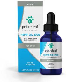 PET RELEAF Pet Releaf CBD Hemp Oil 1700mg