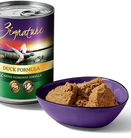 ZIGNATURE Zignature Duck 13oz Canned Dog Food (Case of 12)