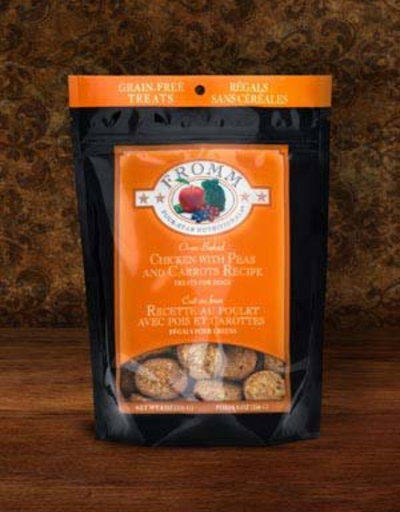 FROMM Fromm Dog Treats Chicken, Carrots & Peas 8oz