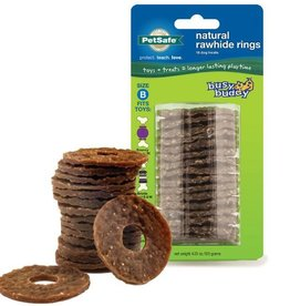 PETSAFE Busy Buddy Gnawhide Refill Rings