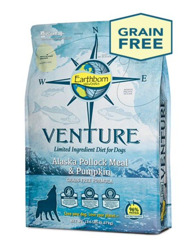 EARTHBORN Earthborn Venture Alaska Pollock Meal & Pumpkin Dog Food