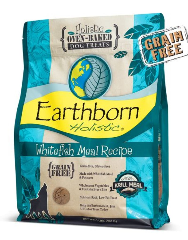 EARTHBORN Earthborn Oven Baked Whitefish Biscuits for Dogs