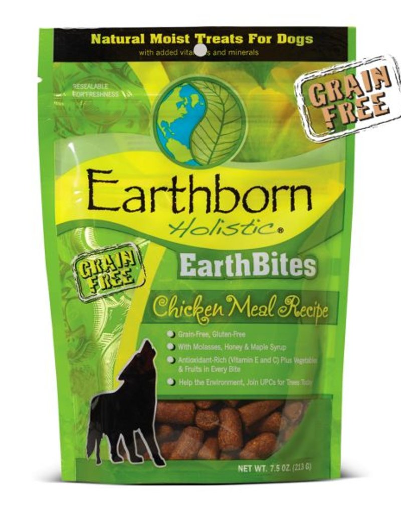 EARTHBORN Earthborn Earthbites Chicken Dog Treats 7.5oz