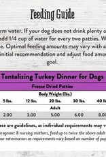 STELLA & CHEWYS Stella & Chewy's Freeze Dried Turkey Patties for Dogs