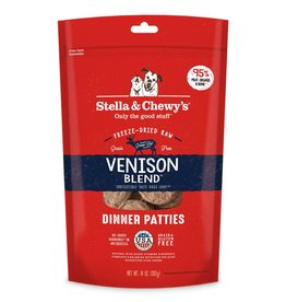 STELLA & CHEWYS Stella & Chewy's Freeze Dried Venison Patties for Dogs