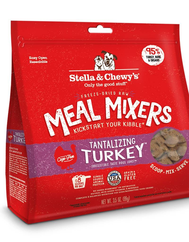 STELLA & CHEWYS Stella & Chewy's Freeze Dried Turkey Mixers for Dogs