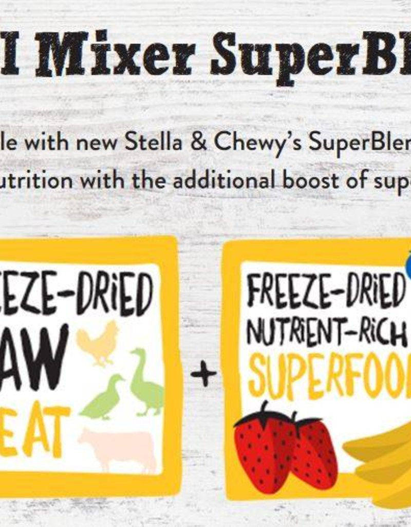 STELLA & CHEWYS Stella & Chewy's Freeze Dried Beef SuperBlends for Dogs