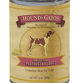 HOUND & GATOS Hound & Gatos Original Paleo Diet 13oz Canned Dog Food (Case of 12)