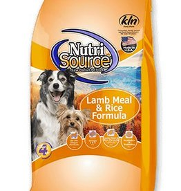 NUTRISOURCE Nutrisource Adult Lamb and Rice Dog Food