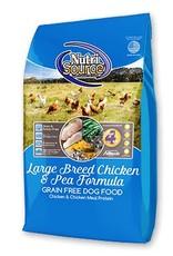 NUTRISOURCE Nutrisource Grain Free Chicken & Pea Large Breed Dog Food 30lb