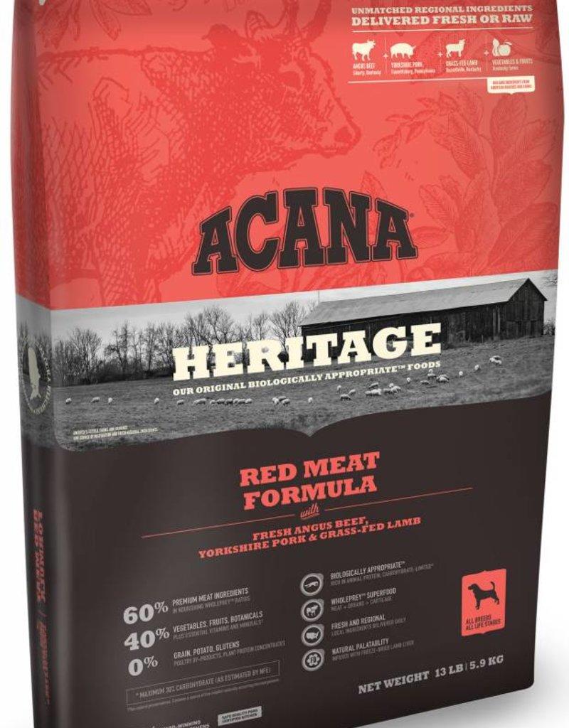 ACANA Acana Heritage Red Meat Dog Food