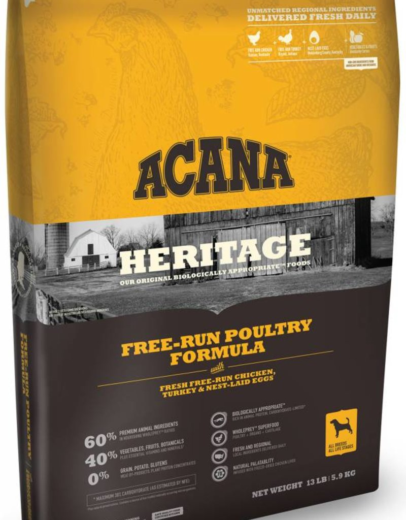 ACANA Acana Heritage Free Run Poultry Dog Food