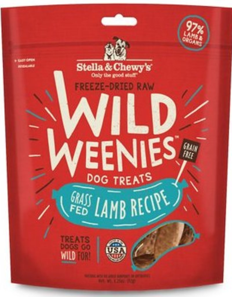 STELLA & CHEWYS Stella and Chewy's Wild Weenies Lamb Recipe 3.25oz