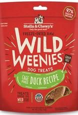STELLA & CHEWYS Stella and Chewy's  Wild Weenies Duck Recipe 3.25oz