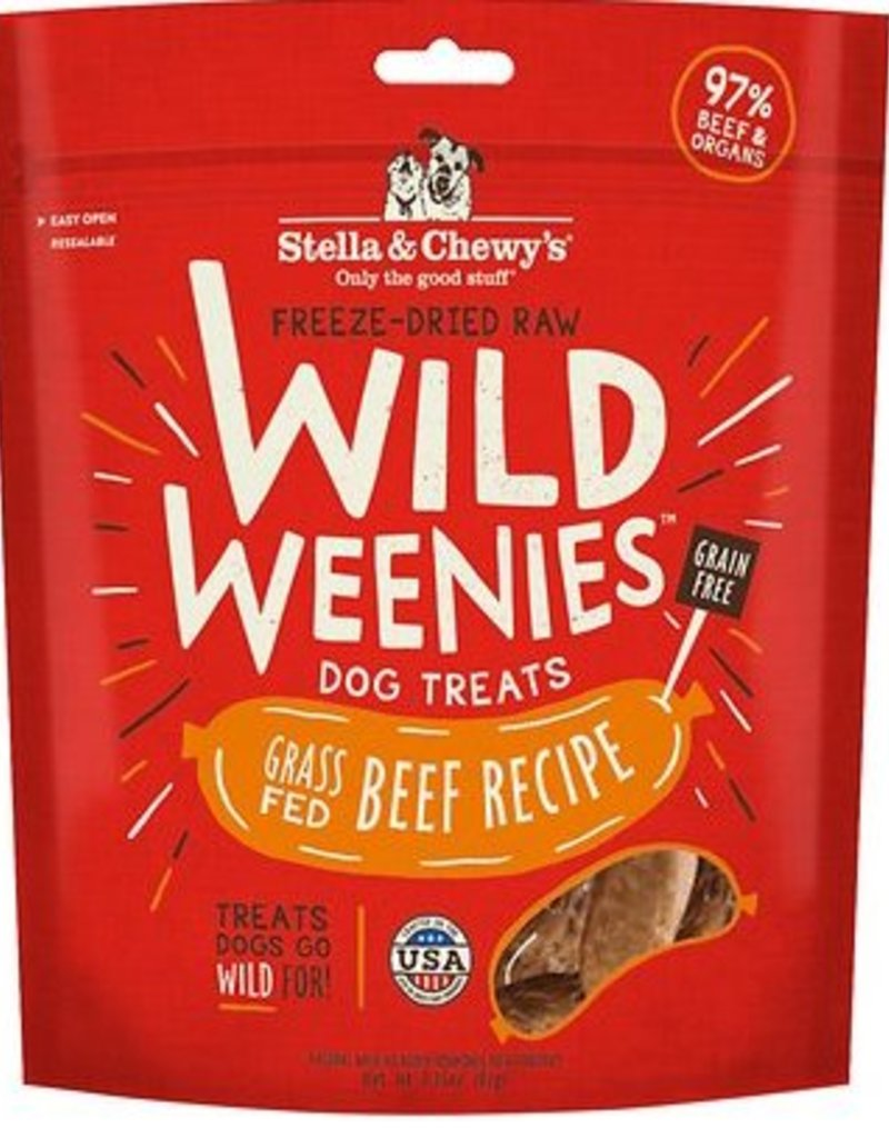 STELLA & CHEWYS Stella and Chewy's Wild Weenies Beef Recipe 3.25oz