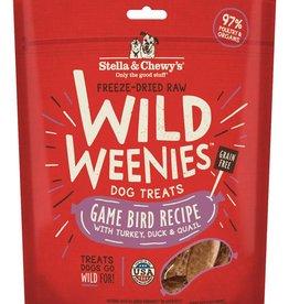 STELLA & CHEWYS Stella & Chewy's Wild Weenies Game Bird 3.25oz