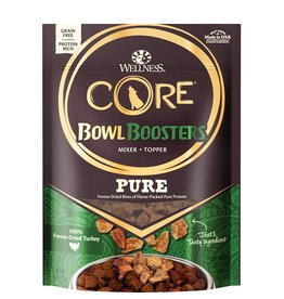 WELLNESS Wellness CORE Pure Bowl Boosters Turkey Freeze Dried 4oz