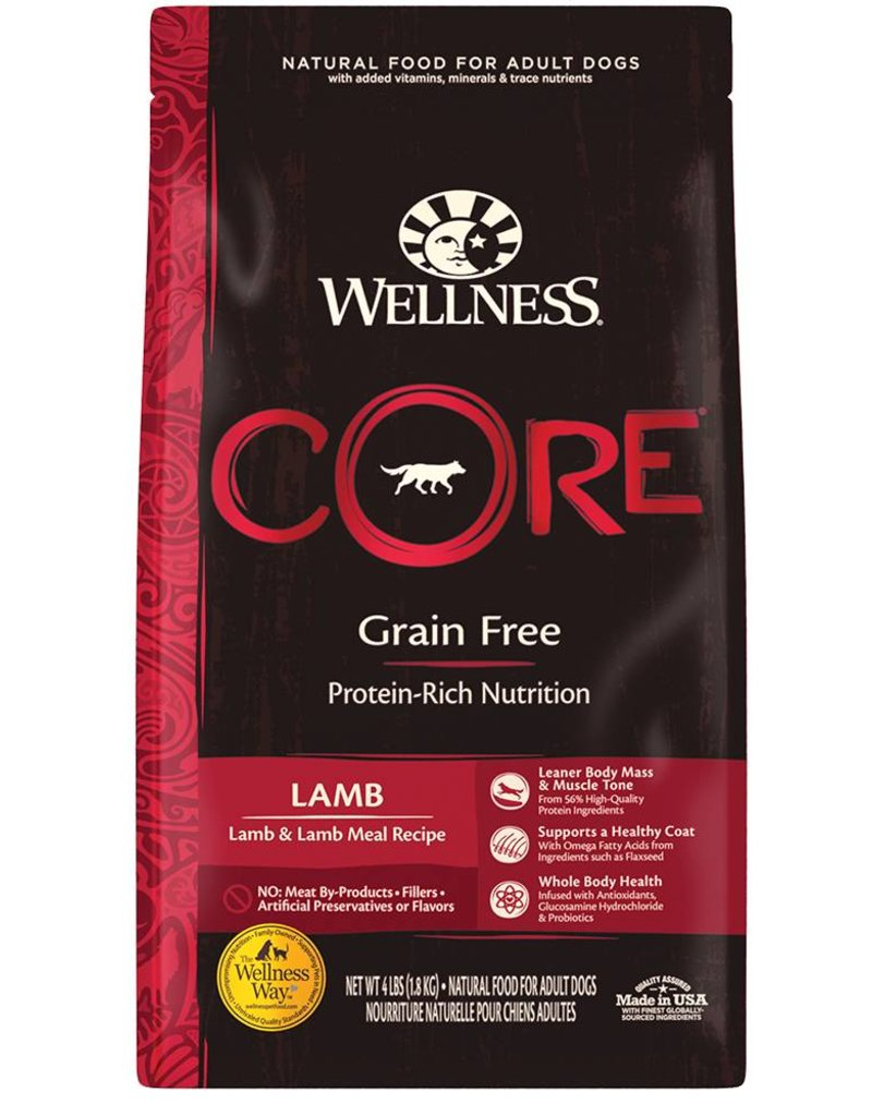 WELLNESS Wellness Core Grain Free Lamb Dog Food