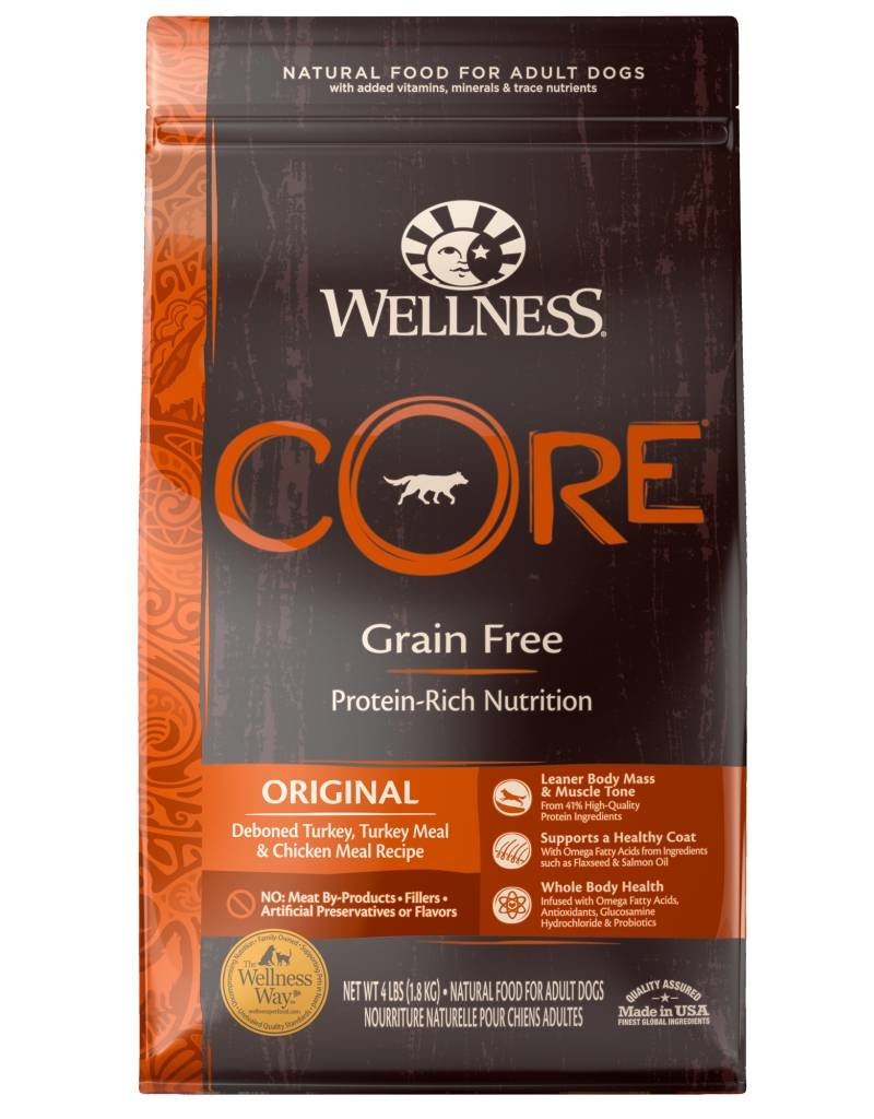 WELLNESS Wellness Core Grain Free Original Dog Food