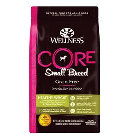 WELLNESS Wellness Core Small Breed Healthy Weight Dog Food