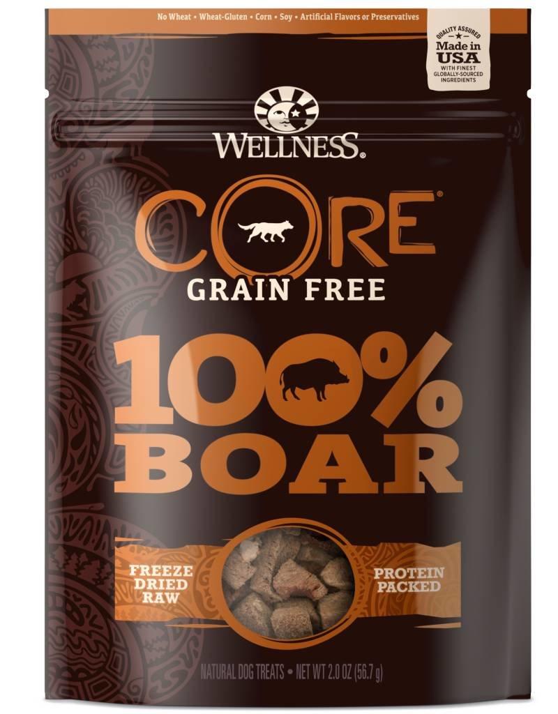 WELLNESS Wellness Dog CORE 100% Boar Treats 2oz