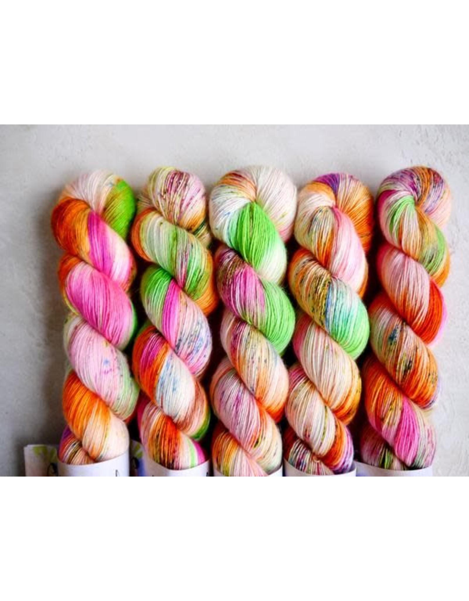 Qing Fibre Bronx (Shangri-la collection) - Silky Merino Singles - Qing Fibre