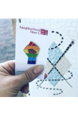 Neighborhood Fiber Co. Pride Pin