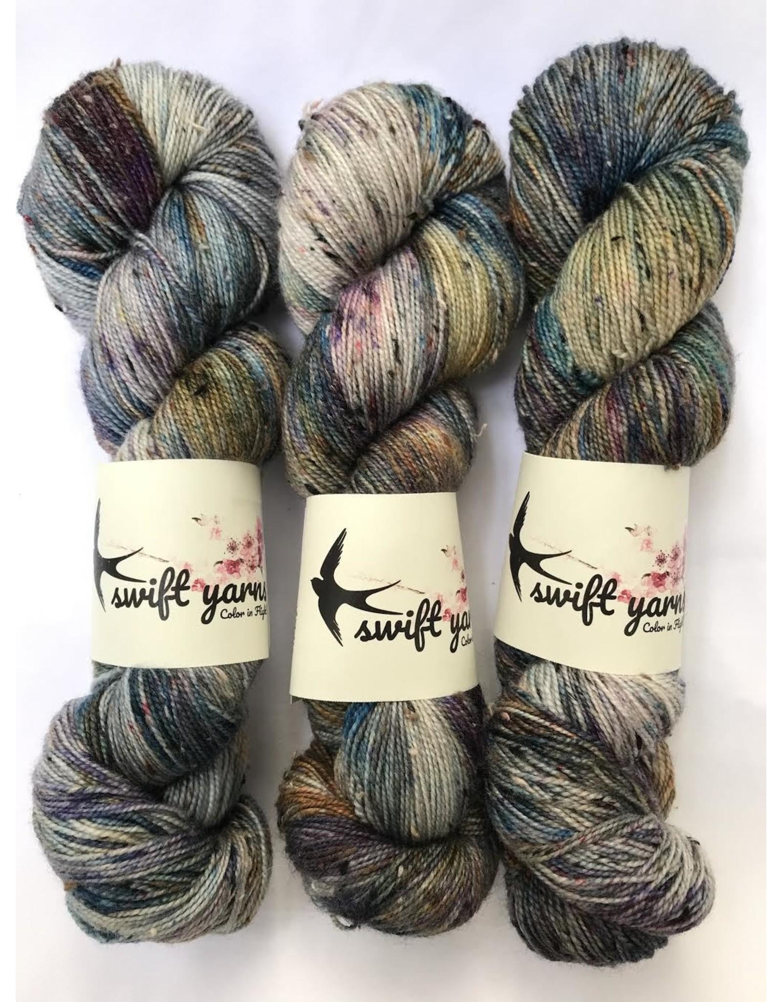 Swift Yarns Stella - Swift Tweed Sock - Swift Yarns