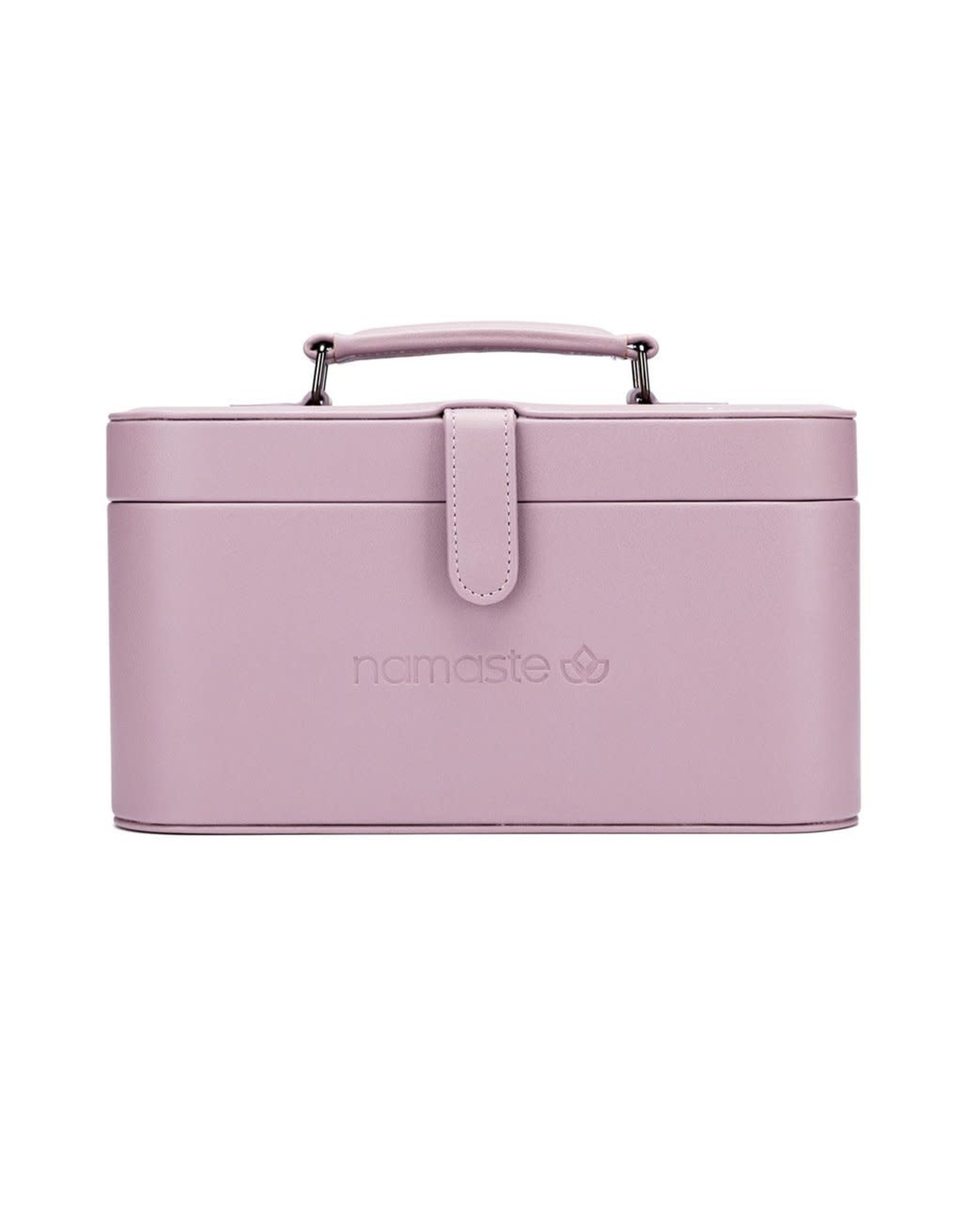 Namaste Maker's Train Case Lavender