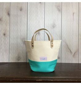 Vickie Howell for Della Q Tote + Zip Pouch - Turquoise