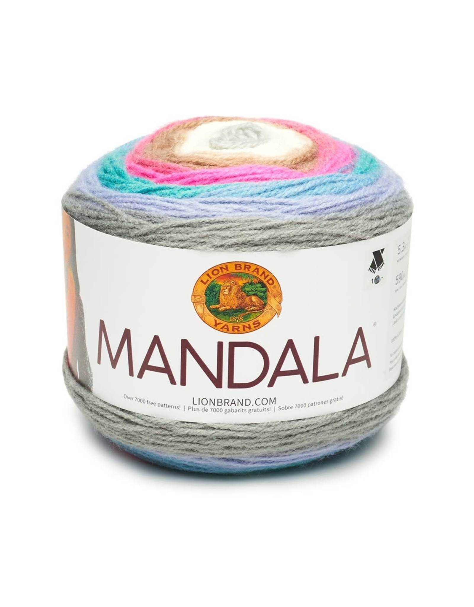 Fairy - Mandala - Lion Brand