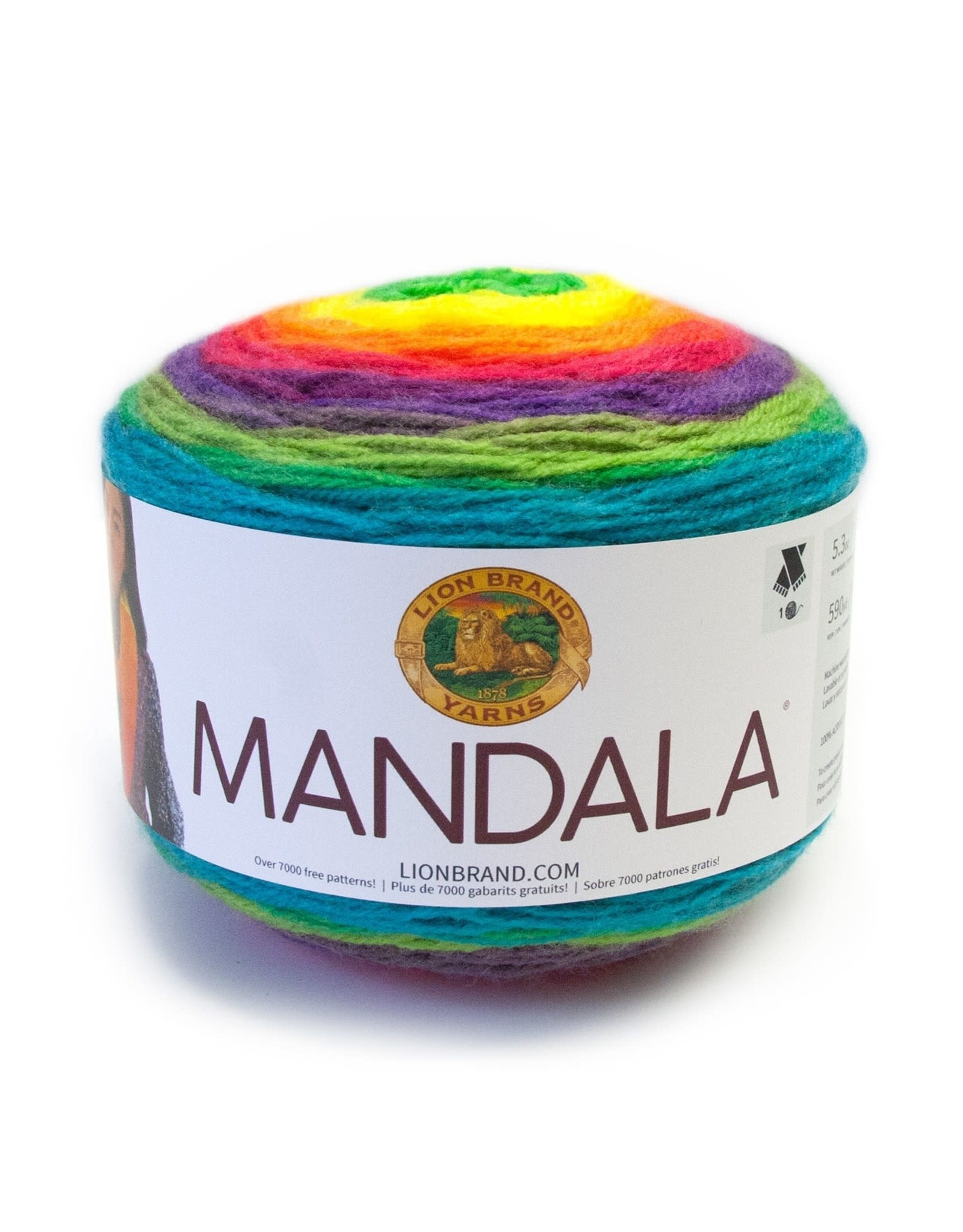 Gnome - Mandala - Lion Brand