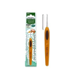 Clover Soft Touch steel crochet hook (0.9mm)