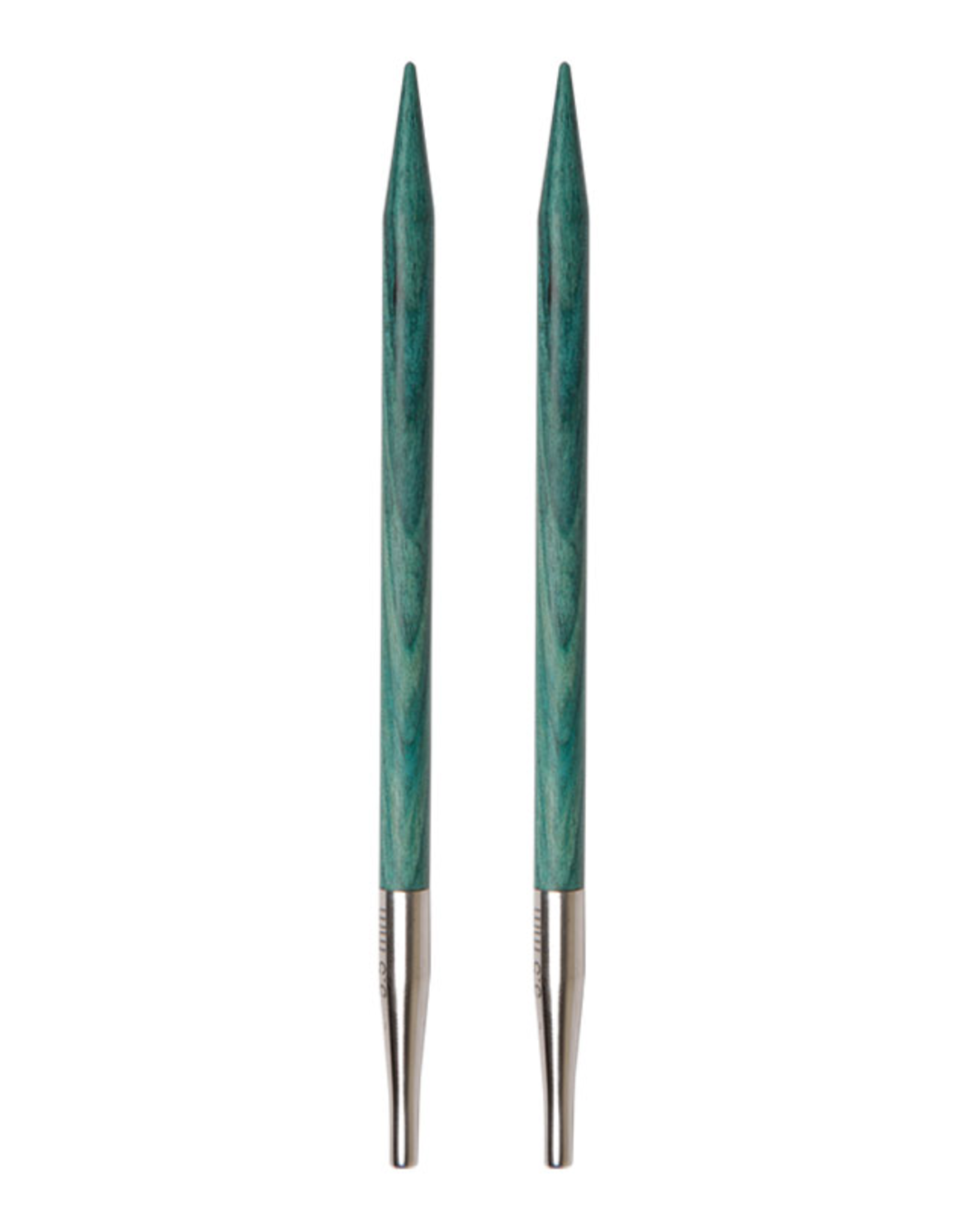 "Dreamz size US 4 interchangeable needle tips for 24"" cords and up."