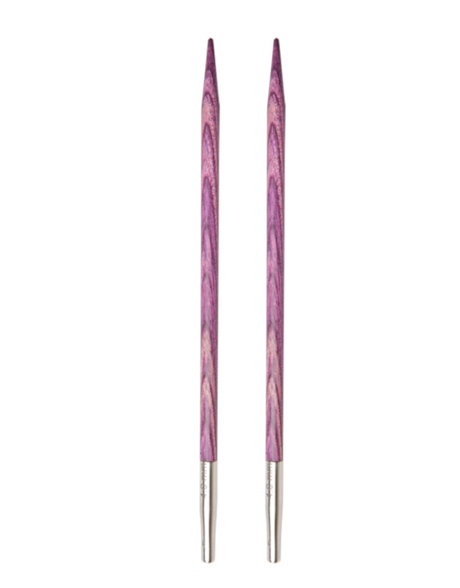 "Dreamz size US 6 interchangeable needle tips for 24"" cords and up."