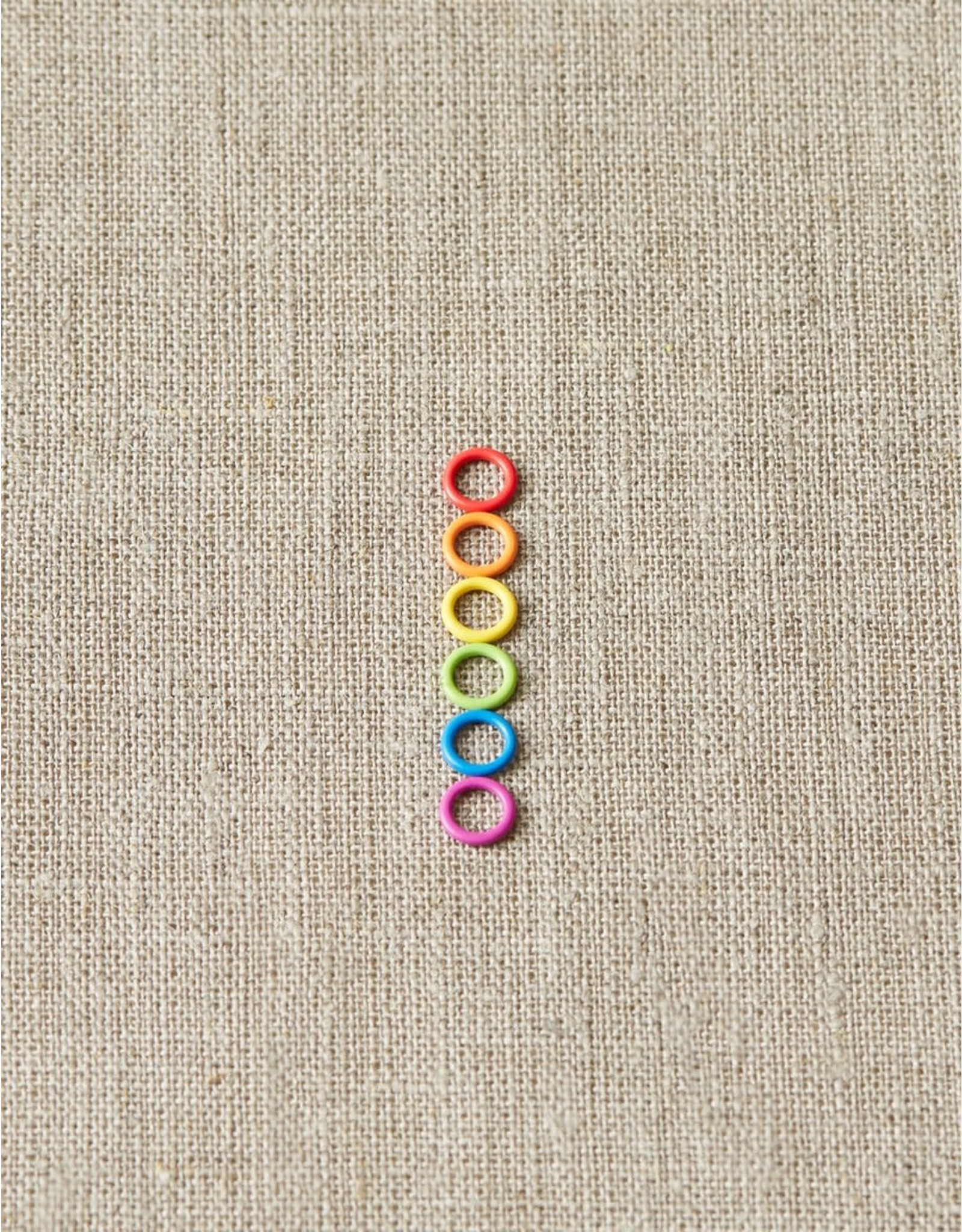 Small Colorful Ring Stitch Markers by Cocoknits
