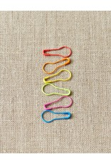 Colorful Opening Stitch Markers by Cocoknits