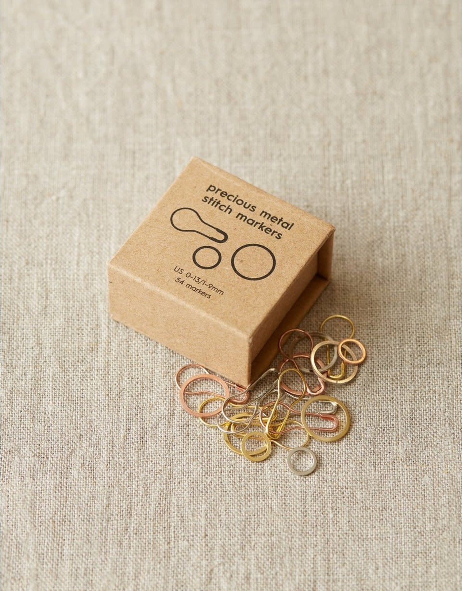 Precious Metal Stitch Markers by Cocoknits