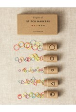 Flight of Stitch Markers by Cocoknits