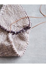 Leather Cord and Needle Stitch Holder by Cocoknits