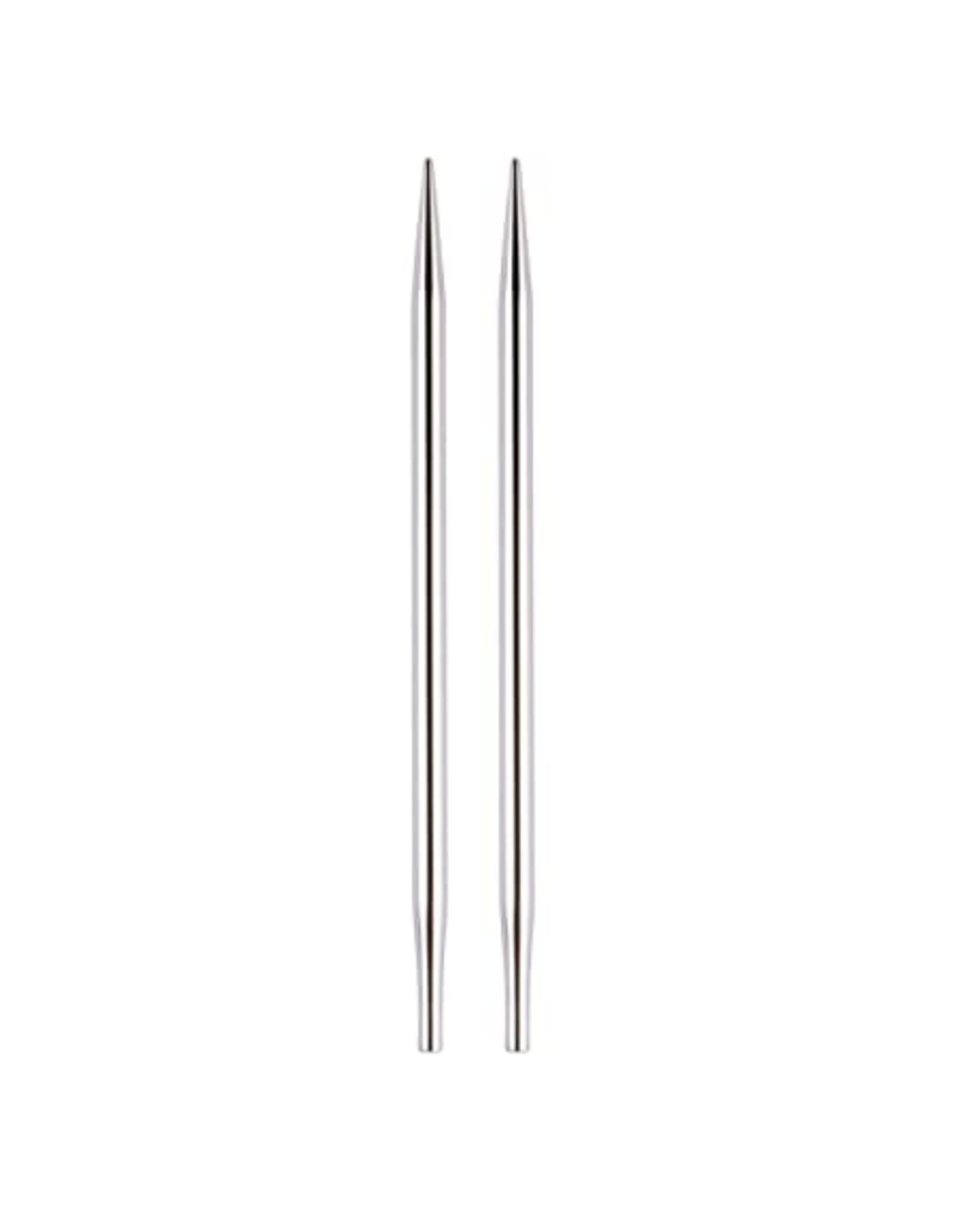 "Nova size US 7 interchangeable needle tips for 24"" cords and up."