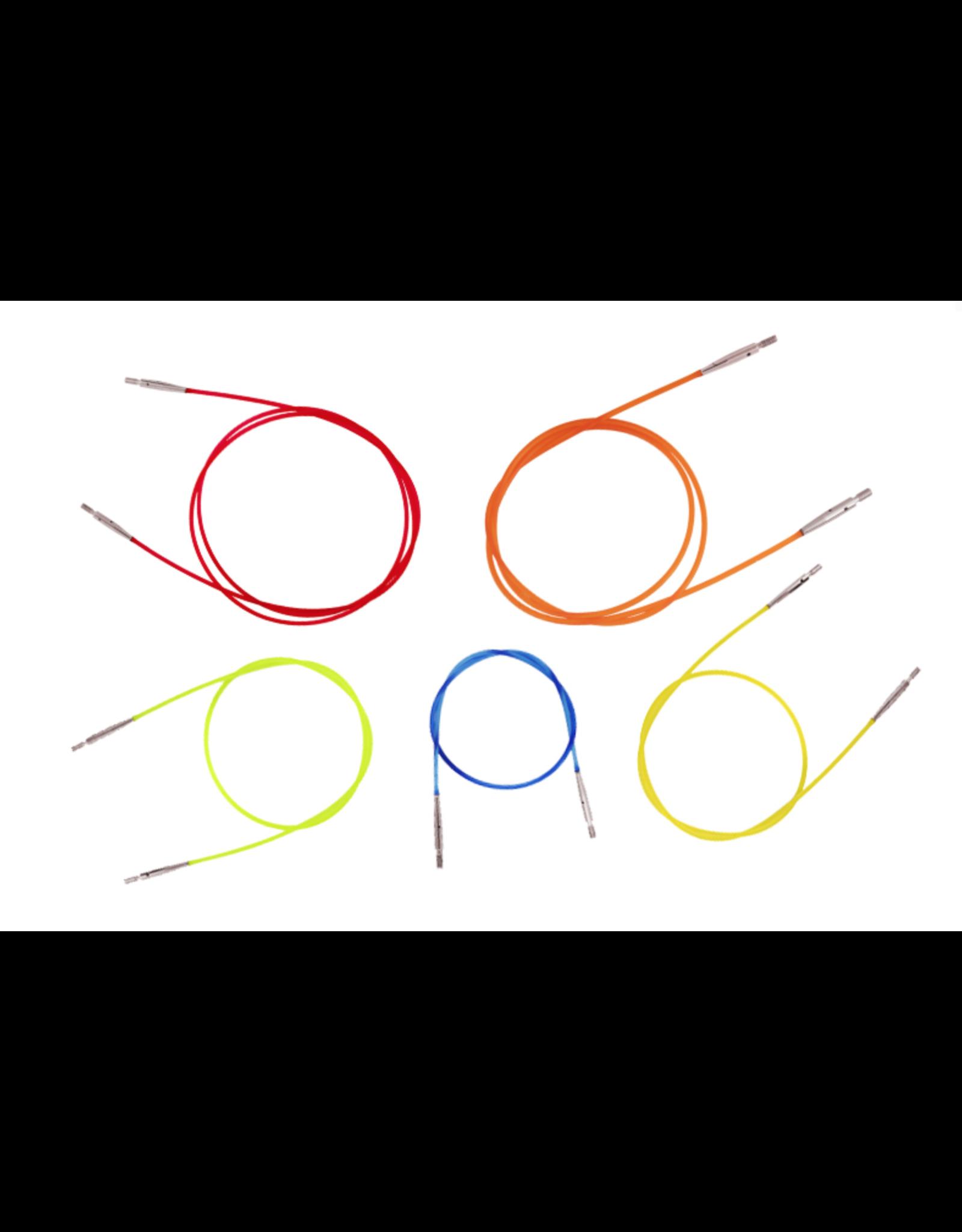 "32"" Knitter's Pride Interchangeable Cord (Orange)"