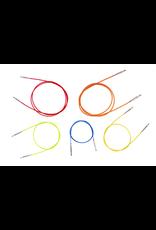 "24"" Knitter's Pride Interchangeable Cord (Green)"