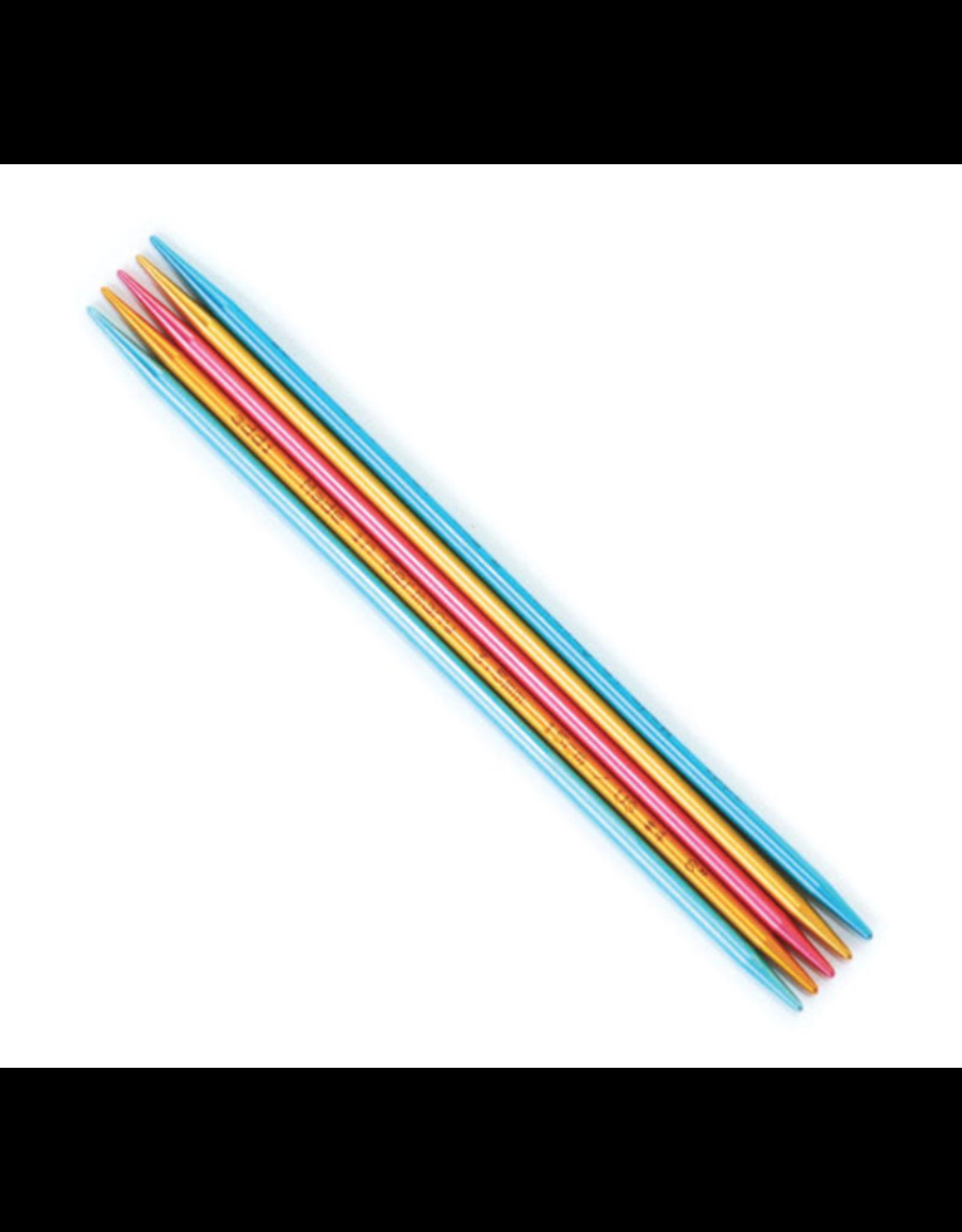 """Addi Flipstix 6"""" long double pointed needle, size US 6"""